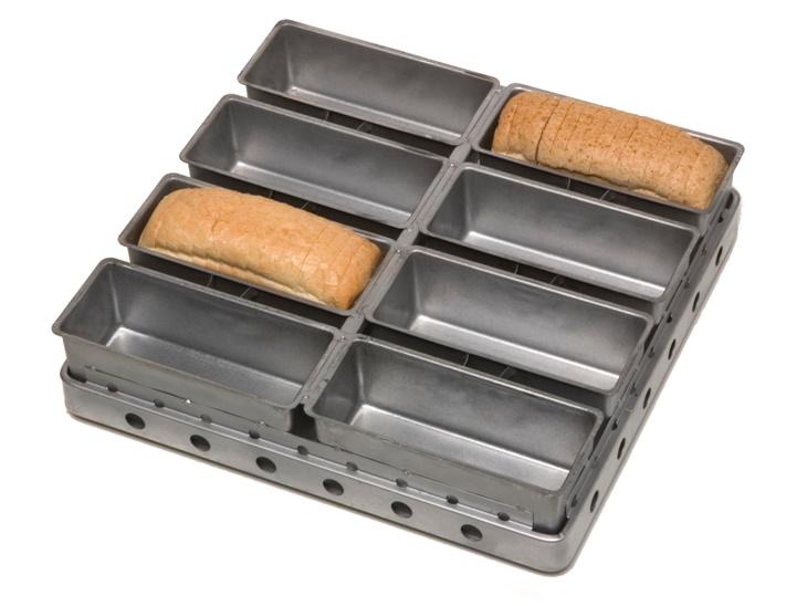 Telaio con forme stampate per pan bauletto