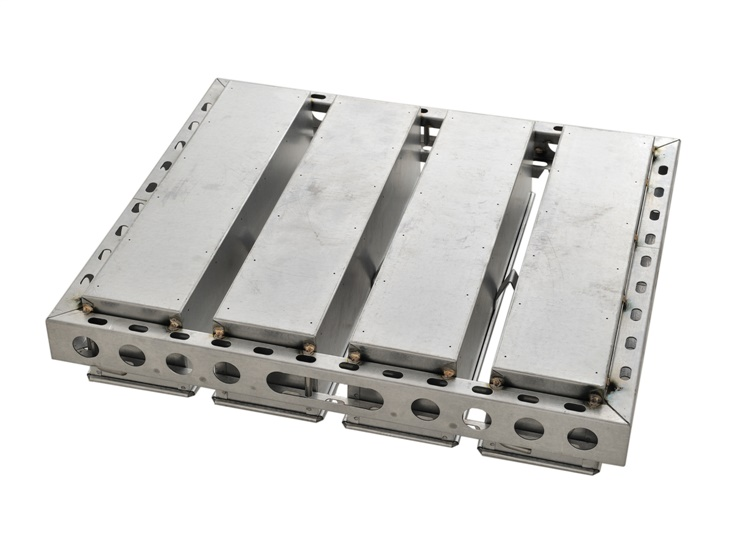 Telaio con stampi piegati per pan-carré