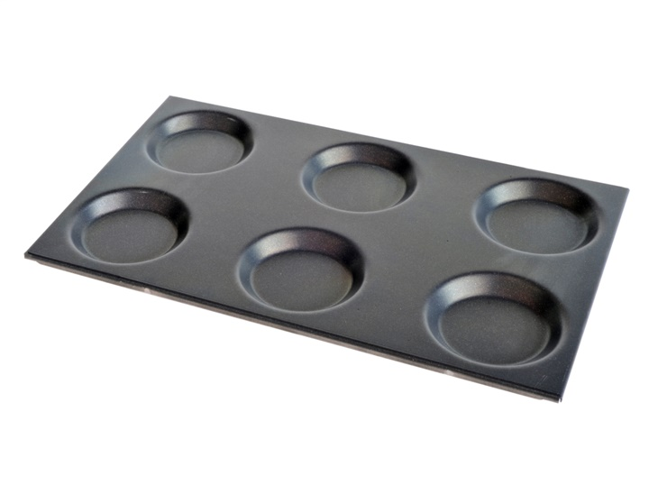 Gastronorm tray for eggs and omelette
