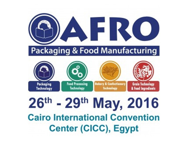 SIAMO PRESENTI AD AFRO PACKAGING & FOOD MANUFACTURING 2016