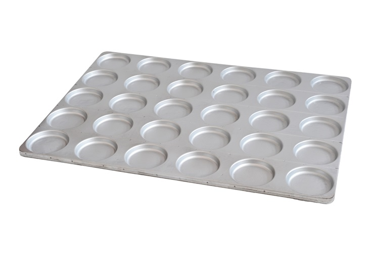 Product | Pan with moulds for hamburger buns