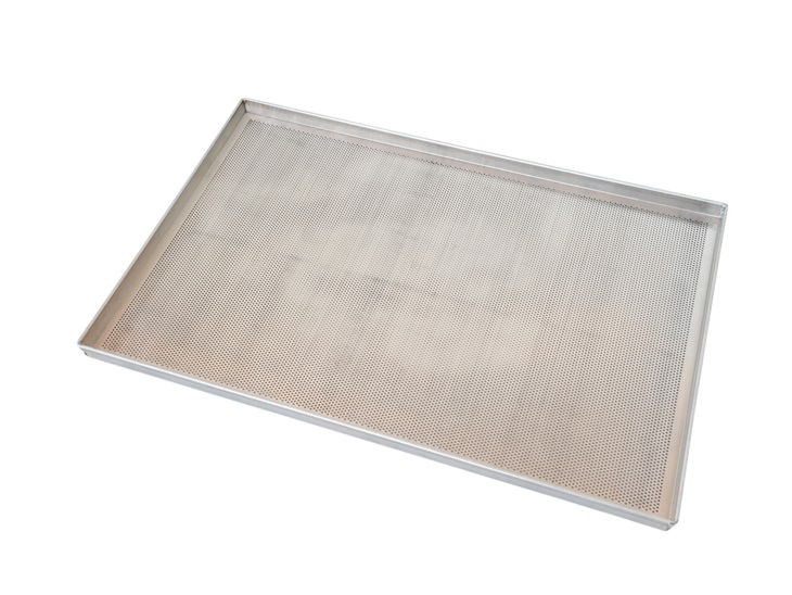 Product | Perforated flat tray with straight edges